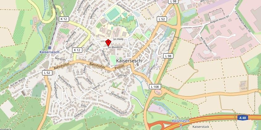 Praxis Kramer | HVZ Kaisersesch | Anfahrt - So finden Sie uns